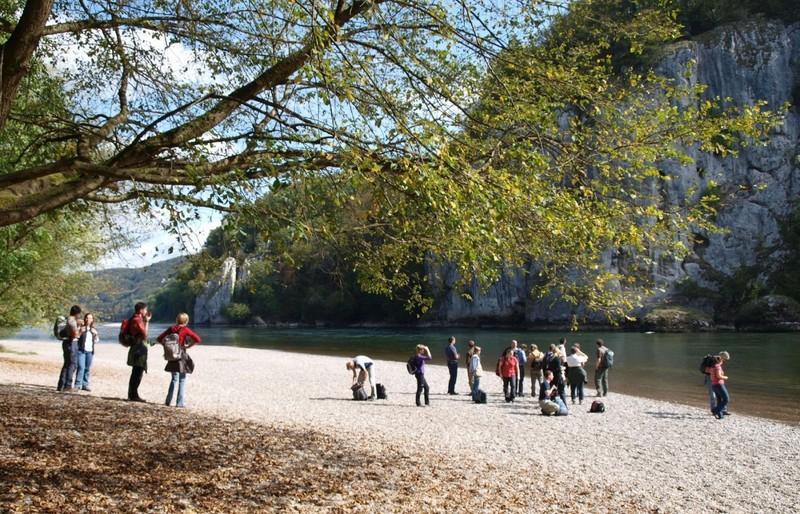 Führung mit der Gebietsbetreuerin im Naturschutzgebiet Weltenburger Enge