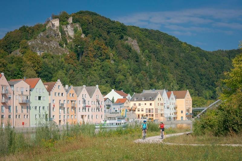 Riedenburg Ortsansicht