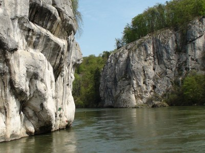 Felsen Lange Wand - Donaudurchbruch