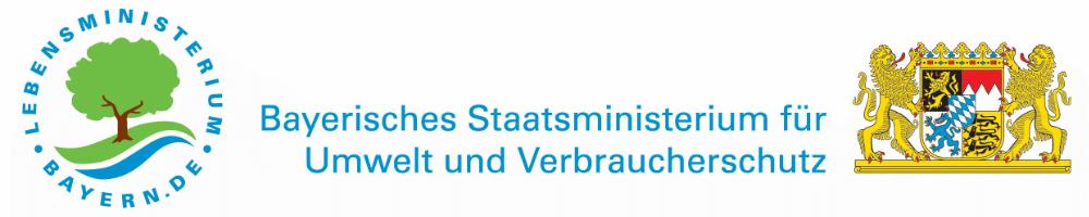 Logo des Bayrischen Staatsministeriums für Umwelt und Verbraucherschutz